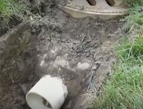 how deep should a french drain be in macomb township mi