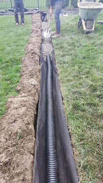 Why Corrugated Pipe Is Used When Building A Michigan