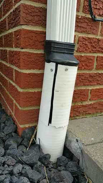 What Are The Advantages To Running Downspouts Underground