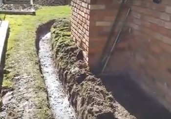 How to build a French Drain System - Michigan