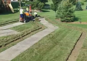French Drain Design - Lake Orion, Michigan