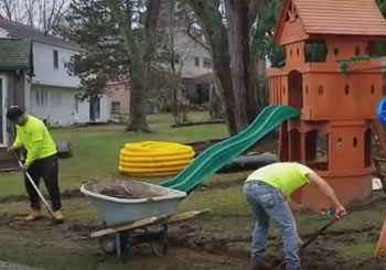 French Drain - Rochester, MI - Oakland County