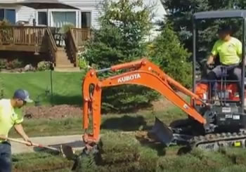 How To Dig a French Drain - Bruce Twp., MI