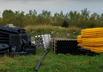 Underground Drainage System - Downspouts 101