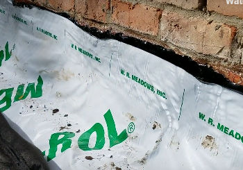 Waterproof Exterior Wall with Mel-Rol