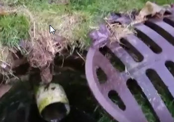 Why you don't use inlet basins with French Drains