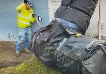 Cistern Hybrid Dry Well Installation - Michigan