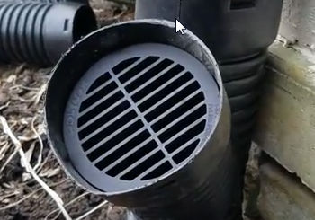 How And When To Vent Your Underground Downspout System French Drain Systems Curtain Drains Macomb Oakland Lapeer St Clair County