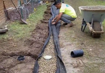 Maintenance Free French Drain - Oakland County, MI