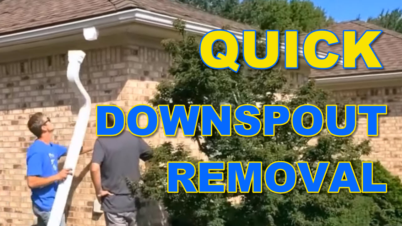 Torrential Rain Kit - Quick Downspout Removal