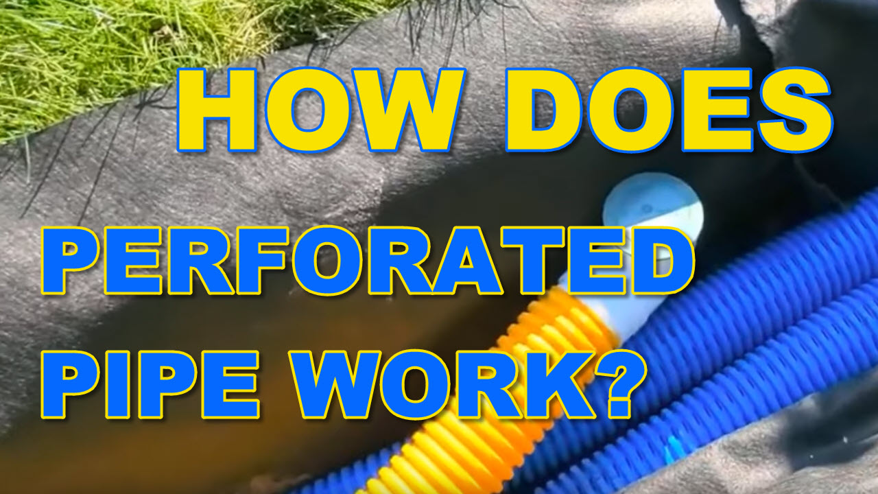 How Does Perforated Drain Pipe Work?