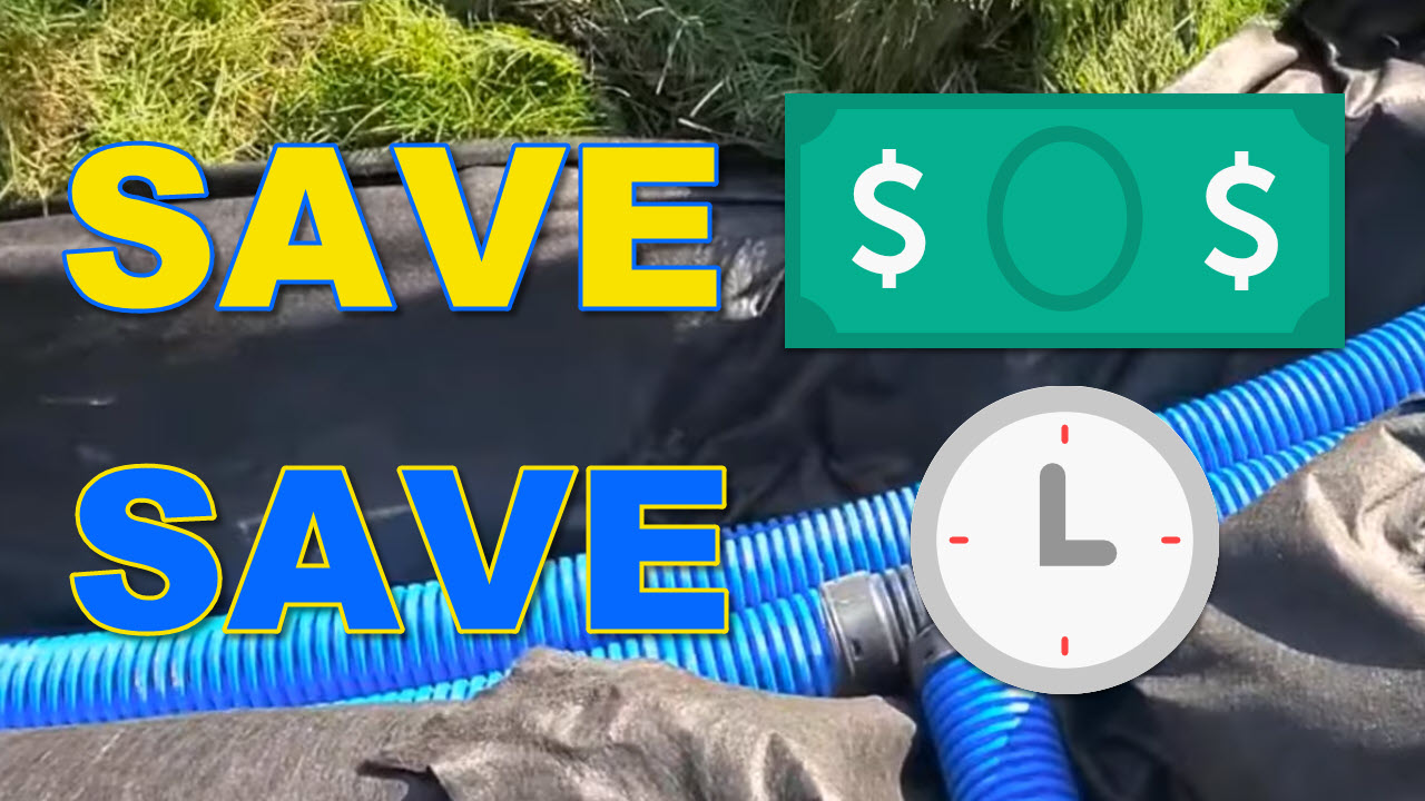 Save Time and Money Installing Yard Drain
