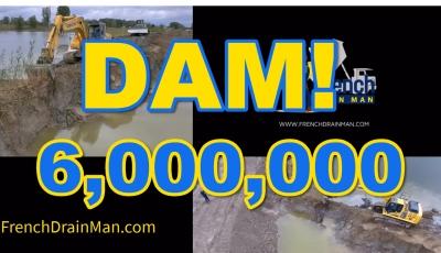 Break Dam Man-Made Pond, Lake, Canal