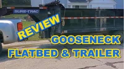 Review Gooseneck Trailer, Ramp