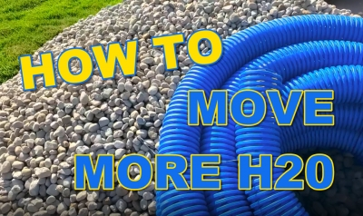 How to move more in French Drain