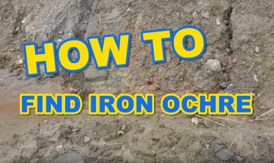 How to Find Iron Ochre in New Construction