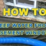 How to Keep Water from Basement Windows