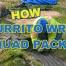 How to Burrito Wrap Baughman High Octane Quad Pack
