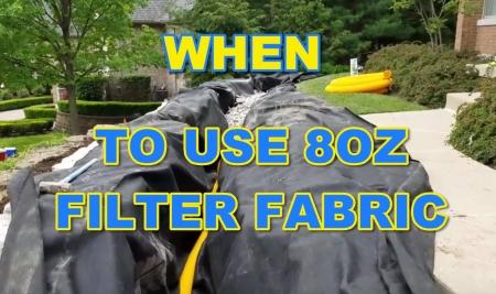 8oz Filter Fabric