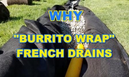 Burrito Wrap - Geotextile Fabric