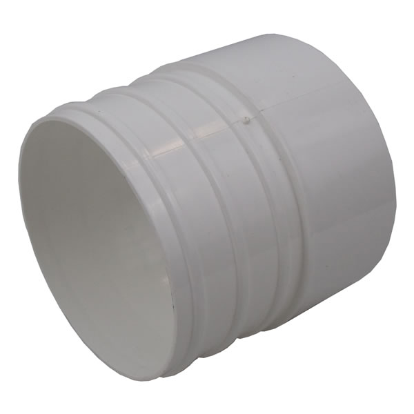 How to Connect PVC to Corrugated Pipe with Cone Adapter
